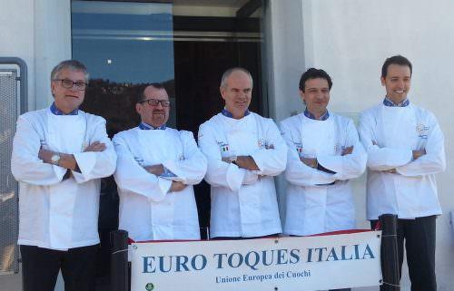 Board Euro Toques Italia, Fournier_Spigaroli_Derflingher_Ceriotti_Circiello