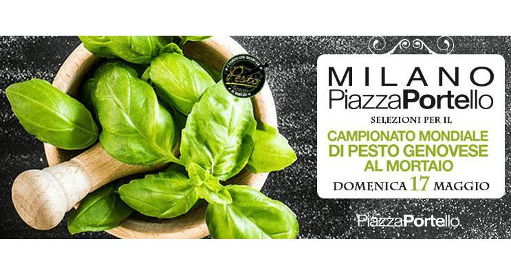 Milano: Domenica 17 maggio a Piazza Portello il pesto è protagonista