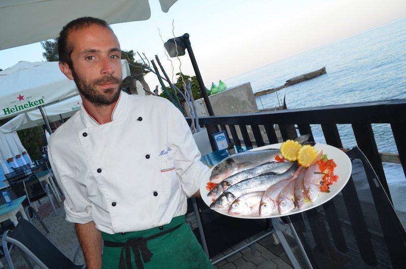 """Ristorante """"The Beach"""", Celle Ligure, Chef Matteo Bo"""