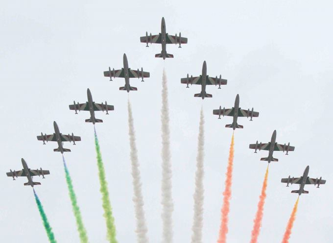 Inaugurazione Expo 2015: l'Esposizione Universale di Milano, è iniziata ufficialmente con il volo spettacolare delle Frecce Tricolore