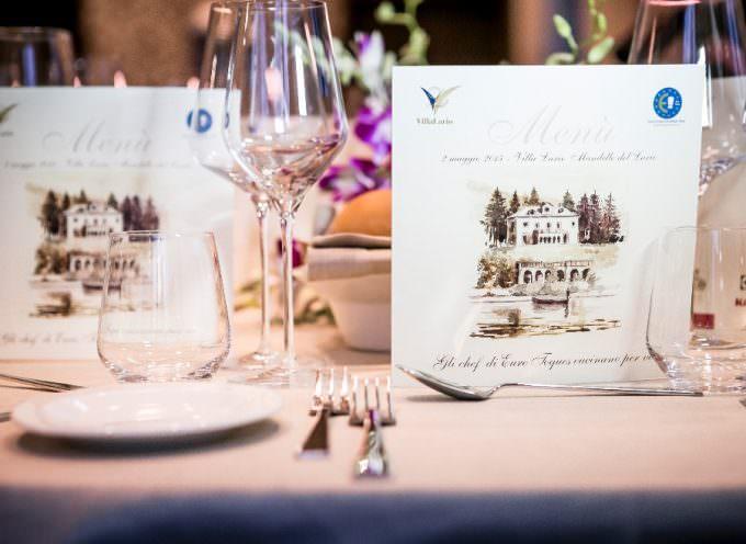 A Villa Lario, trio di chef Euro-Toques per il Lussemburgo: Enrico Derflingher, Daniel Rameau e Renato Favaro