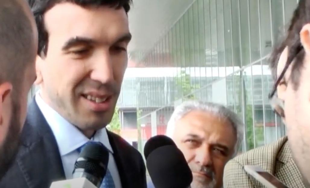 Ministro Maurizio Martina a Tuttofood 2015 (Video)