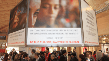 "Expo 2015: Inaugurato lo spazio espositivo di ""Save the Children"""