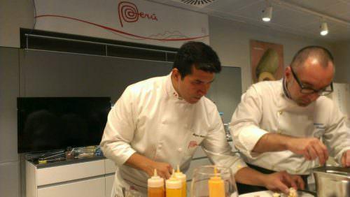 Antonio Maselli con Rafael Rodriguez