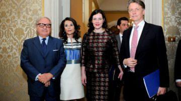 Lettonia: Visita del ministro dell'Economia Dana Reizniece-Ozola in occasione dei  Latvian Days
