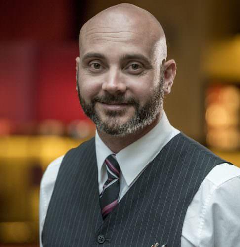 Aaron Stecher, Chef de Bar dell'Hotel Terme Merano