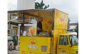 Street Food e musica: L'Ape Car La Toasteria Tigre all'Estathè Market Sound