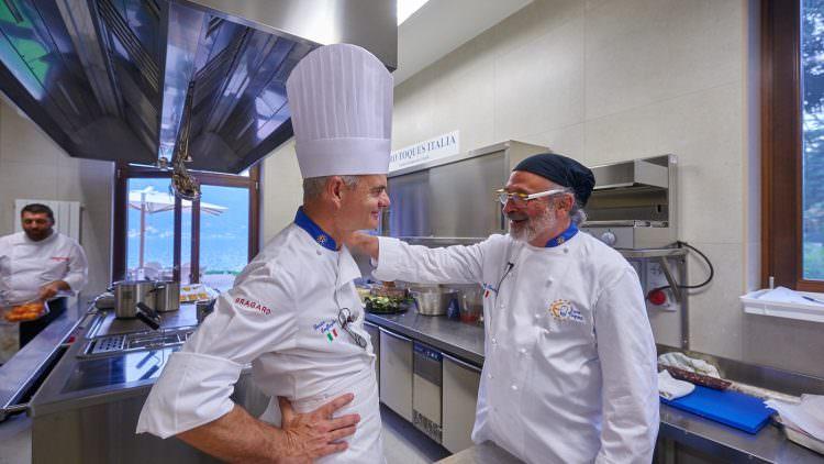 """Andy Luotto mattatore Chef a Villa Lario con """"Pane e Cumpanaticum"""""""