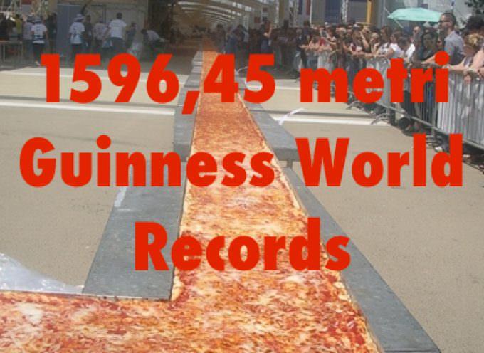 La Pizza è Italia! E anche la Pizza Guinness World Records 2015: 1596,45 metri