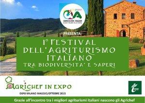 """Primo """"Festival nazionale degli Agriturismi italiani"""""""