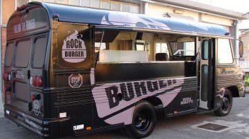 Street food: VS Veicoli Speciali presenta il food truck Rock Burger