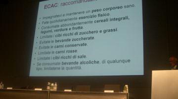 Expo: L'importanza della sana alimentazione nella prevenzione e nel trattamento del paziente oncologico