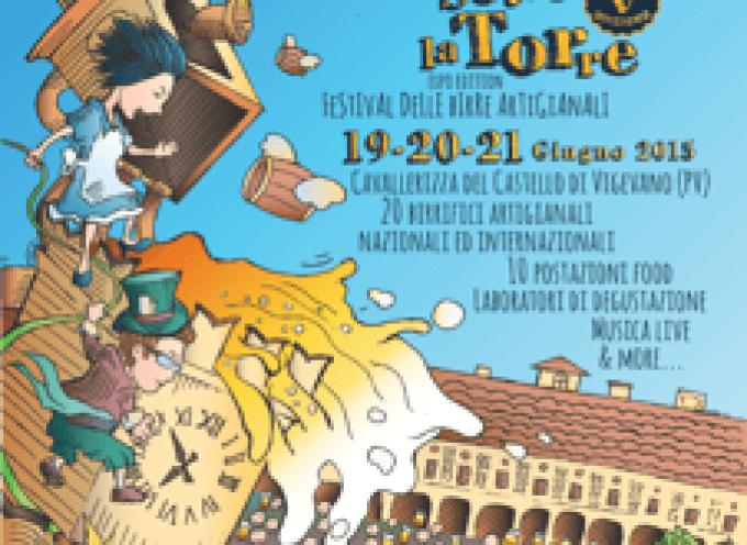 Birre Vive sotto la Torre: A Vigevano (PV) la 5° edizione del Festival delle birre artigianali
