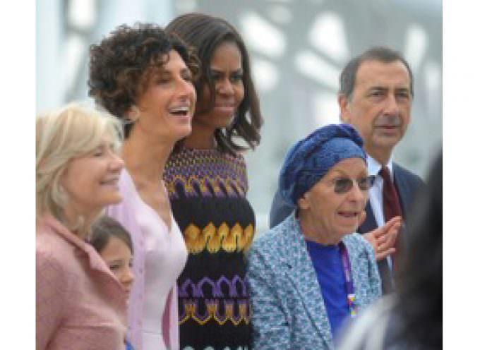 Women for Expo: Incontro tra Michelle Obama, Emma Bonino e Marta Dassù