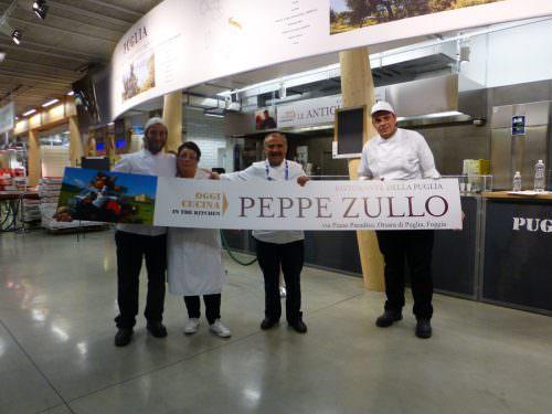 Peppe Zullo con la sua squadra