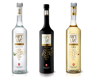 Cocktails estivi: Restyling delle etichette dei distillati Prime Uve