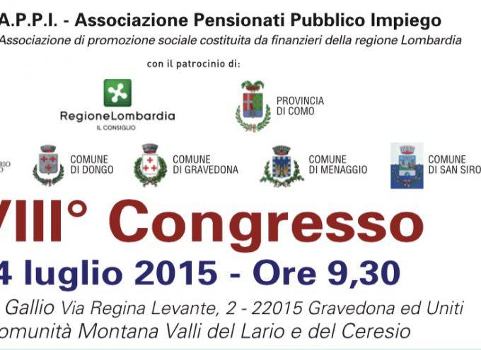 5×1000 ad Associazione Pensionati Pubblico Impiego, costituita da finanzieri della Regione Lombardia