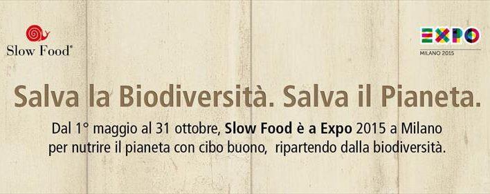 Slow Food: Gli incontri a Expo 2015 dal 20 al 26 luglio