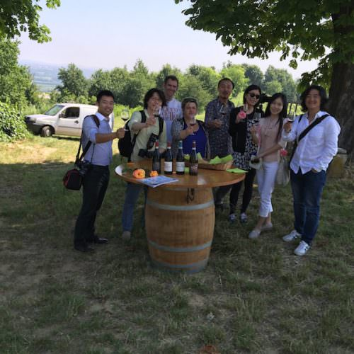 The Bund tour Braida wine tasting