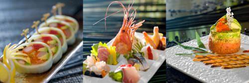 Piatti dello chef Kunio Tokouka del Kyoto Kitcho (3 stelle Michelin)