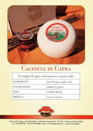 CM Formaggi - CACIOTTA DI CAPRA