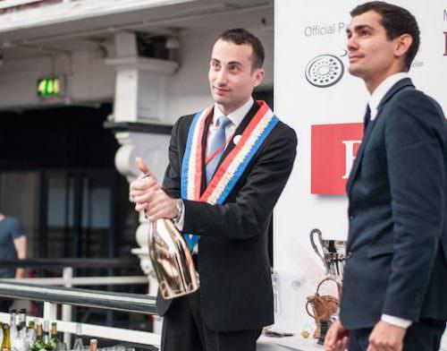 Vincenzo Arnese - Best UK Sommelier  2015'