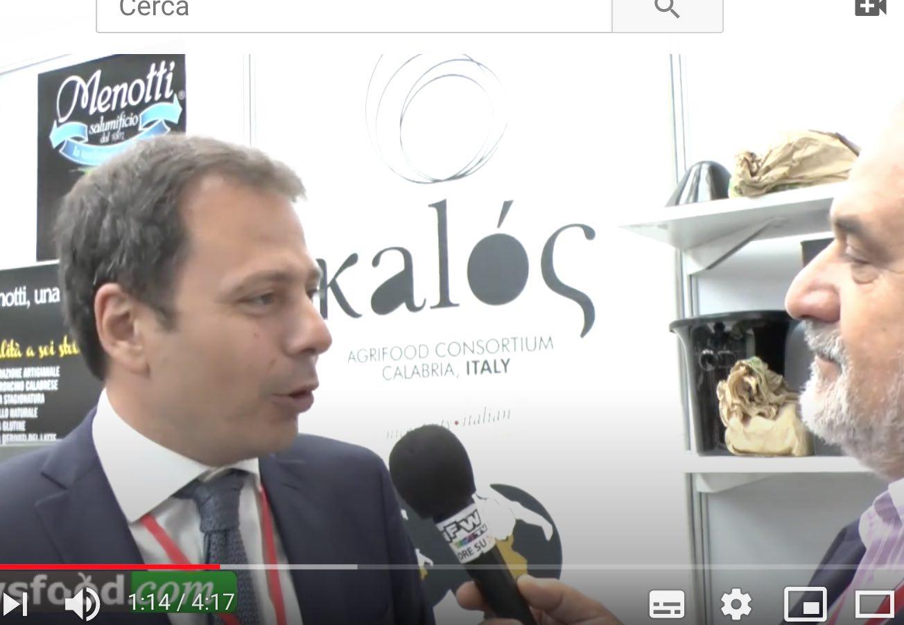 Fortunato Amarelli – Kalos Agrifood Calabria al Bellavita Expo 2015 – (video)