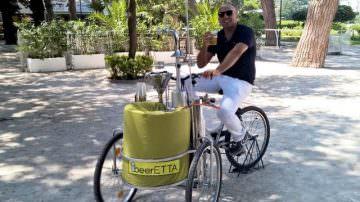 """Cibo di strada: Arriva beerETTA ovvero la nuova """"birra in bicicletta"""""""