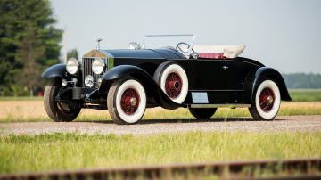 Luigi De Falco e NewsFood alla Mille Miglia con la Rolls Playboy Roadster