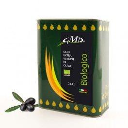 Olio extra vergine Bio - latta da 2 litri