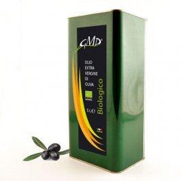 Olio extra vergine Bio - latta da 5 litri