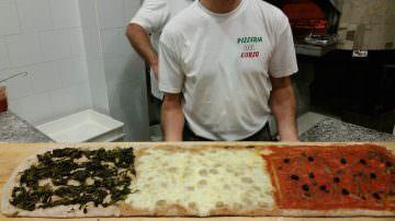 Paestum, Pizzeria del Corso: La Pizza integrale del Cilento