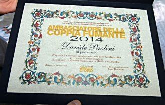 Davide Paolini, nominato ambasciatore del Gnocco d'Oro