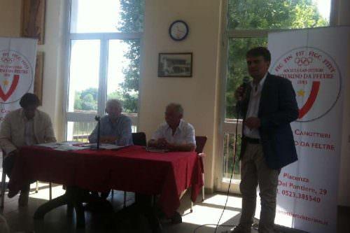 Piacenza: Vittorino Zermani-Scarpa-Bionda-Bonaccini Cons.Bonific