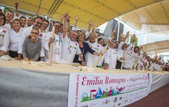 Emilia Romagna da record con 60 metri di sfoglia CheftoChef