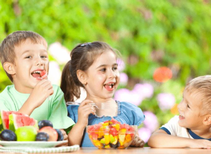 Alimentazione più sana, bambini più felici