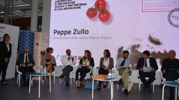 Peppe Zullo racconta l'Orto LUISS ad EXPO
