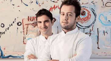 Fabio Pisani e Alessandro Negrini, padroni di casa de Il Luogo di Aimo e Nadia
