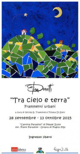 Invito mostra Donetti - Peppe Zullo