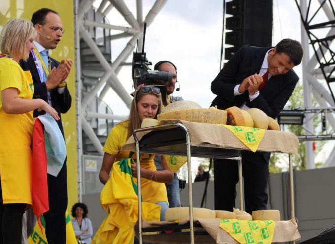 Expo, Coldiretti: Il Premier Renzi adotta i formaggi italiani