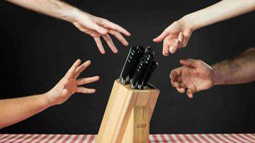 La startup italiana Ausker apre le vendite dei suoi coltelli su Kickstarter