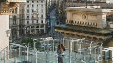 Milano: Al via le visite guidate sulle Terrazze della Galleria Vittorio Emanuele
