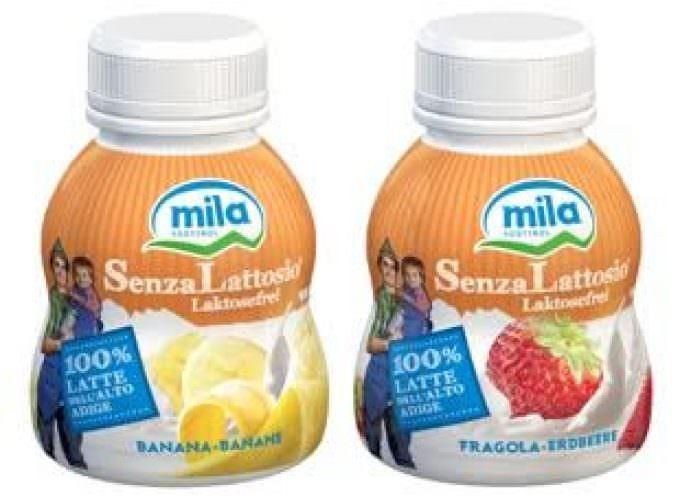 E' nato lo yogurt da bere Mila senza lattosio