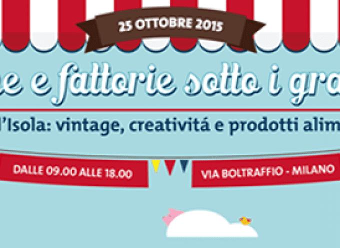 """Milano, domenica 25 ottobre: """"Botteghe e fattorie sotto i grattacieli"""" al Quartiere Isola"""