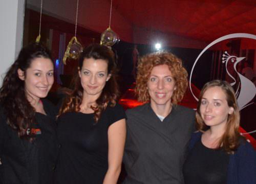 Selene, Rosy, Jenny, Chiara