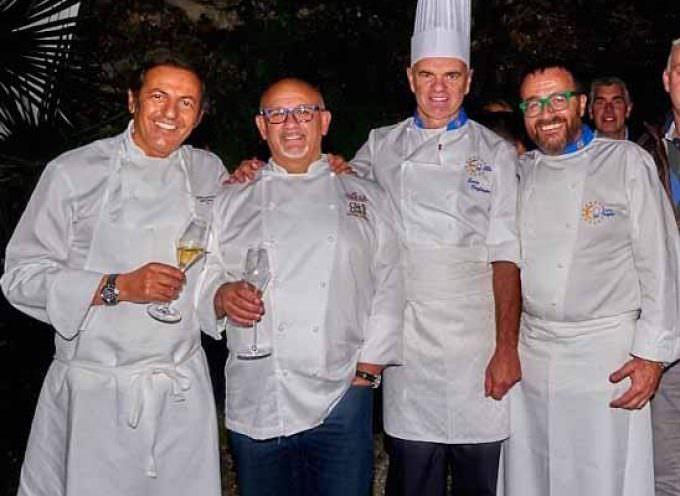 """Villa Lario Resort: Quattro """"superchef"""" riuniti per una sera da Enrico Derflingher"""