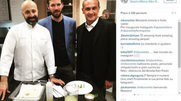 Nuovo account Instagram per lo chef Niko Romito