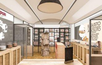 Torino Porta Nuova: Sapori apre il suo primo temporary store