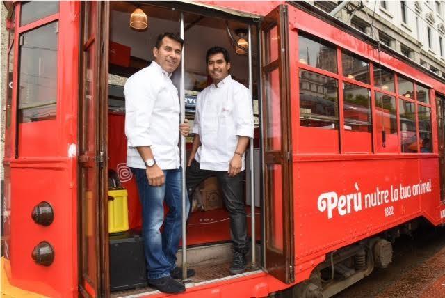 "Perù, feeds your soul: Degustazioni gratuite offerte sul ""Tram del Perù"""
