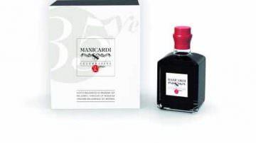 Aceto Balsamico di Modena: Manicardi riedita la prima bottiglia del 1980